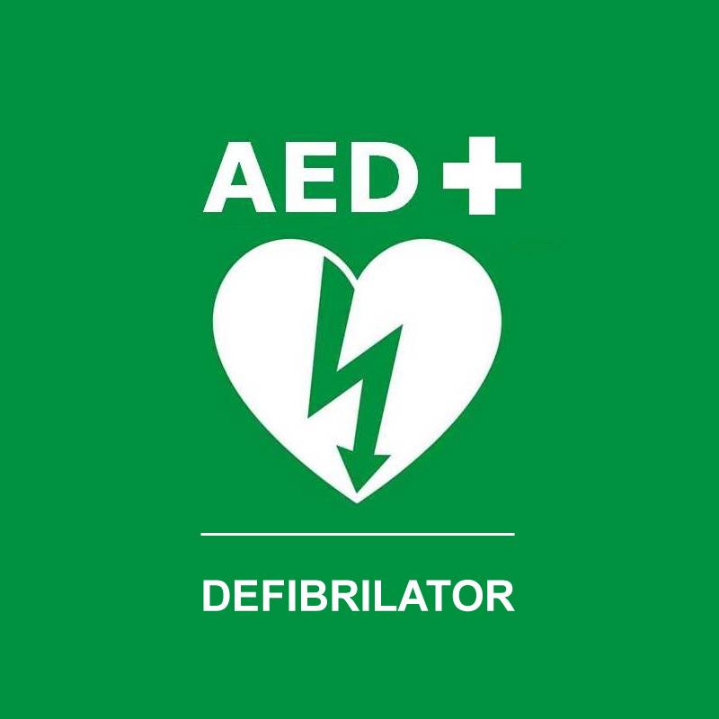 Lokacije AED defibrilatorjev v Občini Rogatec
